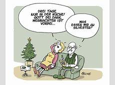 Weihnachten vorbei FEICKE Cartoons