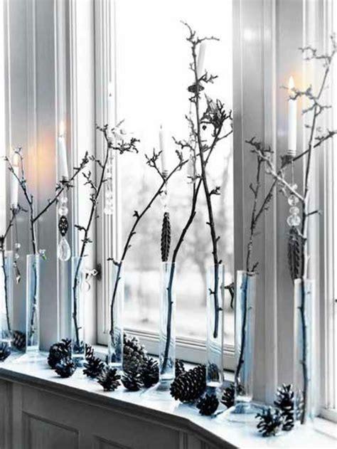 Fensterdeko Weihnachten Zweige by Fensterdeko Zu Weihnachten 104 Neue Ideen