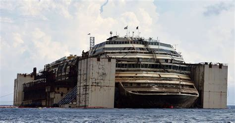 They Pulled A Sunken Cruise Ship From Underwater And The Inside Is REALLY Creepy - Another Day ...