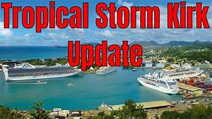 Tropical Storm Kirk Heads To Guadeloupe Dominica