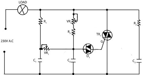 Electronic Light Dimmer Circuit Circuits