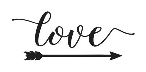 Free svg arrow set for words. STENCIL**love w/arrow**6x12 for Signs Wood Fabric Canvas ...