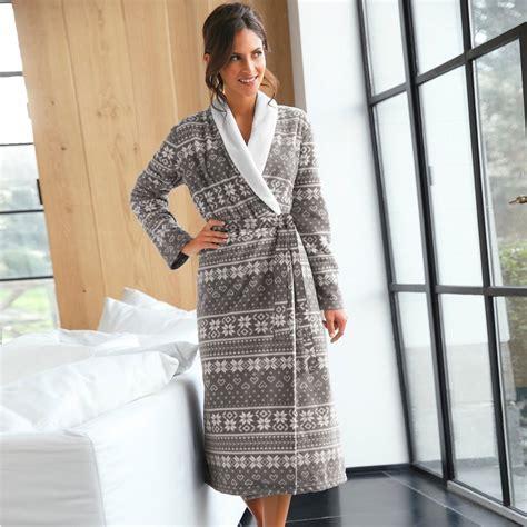 robe de chambre tres chaude pour femme lepeignoir fr