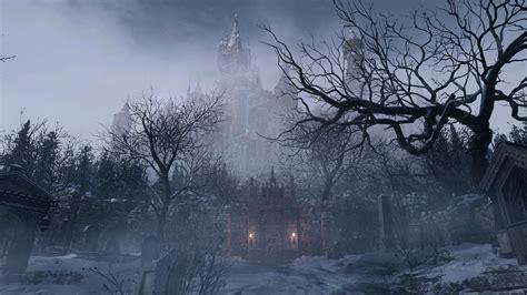 wallpaper resident evil village screenshot