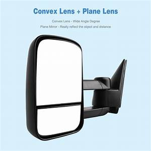 Pair Tow Side Mirrors Manual For 99