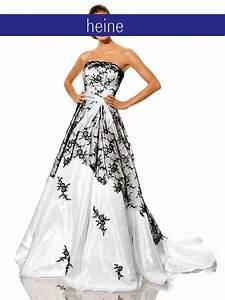 Schwarz Weiß Hochzeitskleid : hochzeitskleid wei schwarz abendmode outlet mode shop ~ Frokenaadalensverden.com Haus und Dekorationen