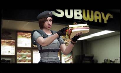 Jill Sandwich Resident Evil Valentine Esto Sabias