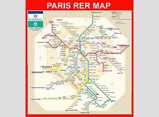 Paris RER map