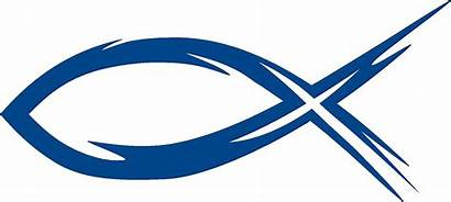 Fish Christian Clipart Ichthus Symbol Jesus Ichthys