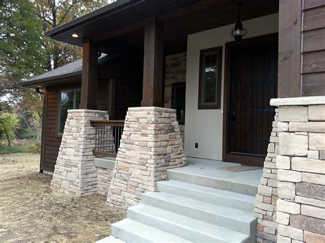 Rock Columns Porch by Porch Columns With Base Oz48 Roccommunity