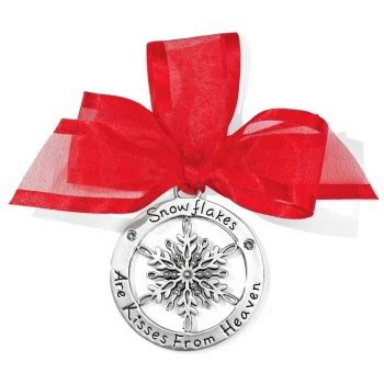 brighton alcazar flake ornament ornaments home gifts