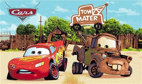 Cars 2 Mater Image by Mater And Lightning Mcqueen Cars 2 Character Wallpaper