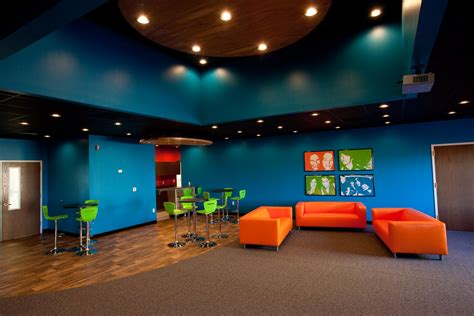 cool church youth rooms photos studio design gallery