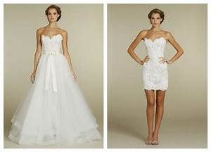 whiteazalea ball gowns trendy 2 in 1 wedding dress ideal With 2 in 1 convertible wedding dresses