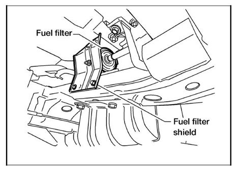 2003 Altima Fuel Filter Location by Where Is The Fuel Filter Located On A 2002 Nissan Frontier