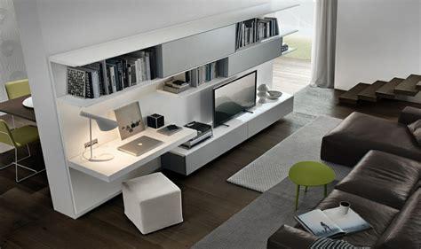am 233 nagement de bureau moderne dans un salon design