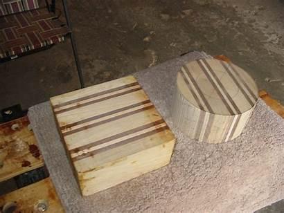 Turning Blanks Laminated Project Wood Round Lathe