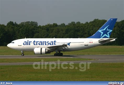 air transat login airpics net c glat airbus a310 300 air transat medium size