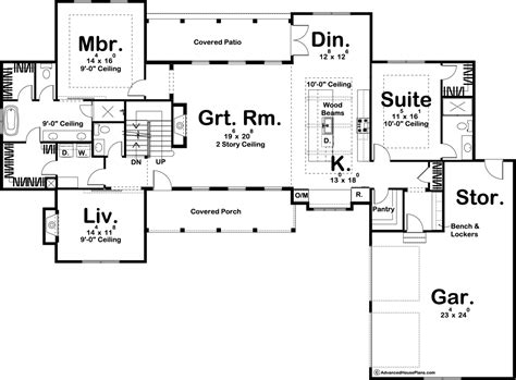 story modern farmhouse house plan rochester
