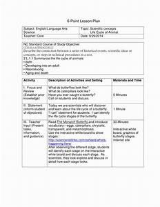 6 point lesson plan beautiful 6 point lesson plan sample With six point lesson plan template