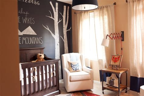 Woodland Themed Nursery Bedding by Fox And Woodland Themed Nursery For A Boy Kidsomania