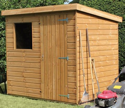 10ft X 6ft Shed by Shedlands 10 X 6 Ft Traditional Pent Garden Shed