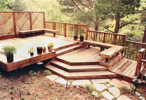 landscaping decks wood decks wood decks landscaping