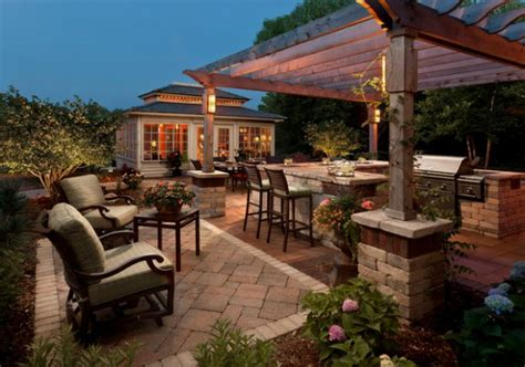 luxury patio design ideas  inspiration