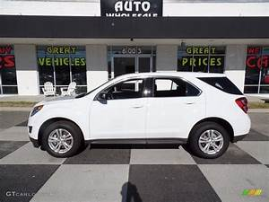 2017 Summit White Chevrolet Equinox LS #118310079 ...