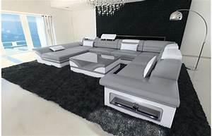Möbel Xxl De : wohnlandschaft enzo xxl in grau wei exklusive designer m bel von sofa dreams wohnlandschaft ~ Yasmunasinghe.com Haus und Dekorationen