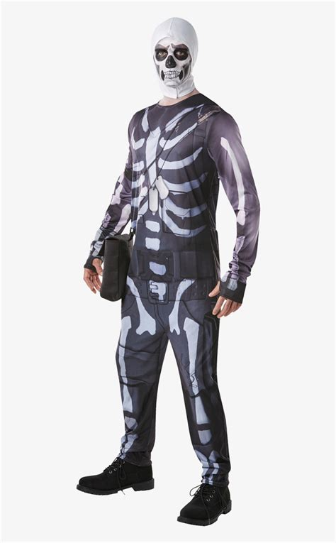og skull trooper fortnite  transparent png