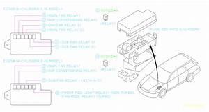 2000 Subaru Legacy Accessory Power Relay  Electrical  Body  Fuse