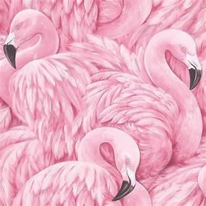 Rasch Pink Flamingo Wallpaper 277890