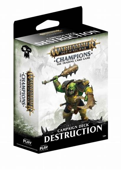 Destruction Sigmar Age Campaign Champions Deck Warhammer