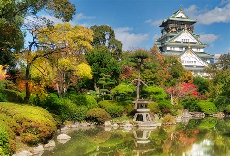 Japanischer Garten Osaka by Osaka Castle Hd Wallpaper Background Image 3500x2380