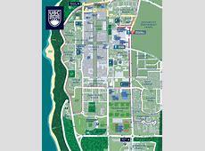 Map & Locations UBC Sport Facilities