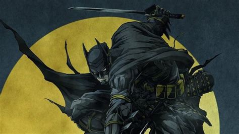 Batman Anime Wallpaper - batman poster revealed for upcoming anime