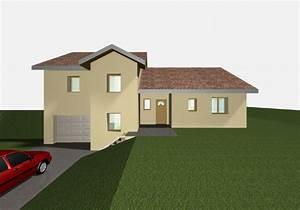 plan maison 99 m2 demi niveau 17 messages With maison demi niveau plan 8 plan de maison romaine