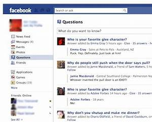 """Are Questions The """"Future Of Facebook""""? 