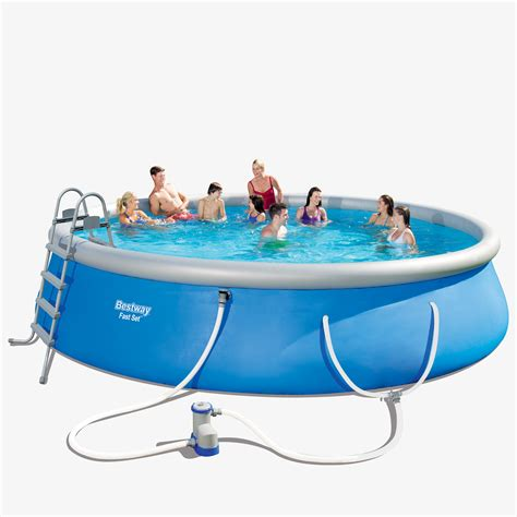 Pool Set by Bestway Fast Set 18 X 48 Quot Swimming Pool Set Walmart