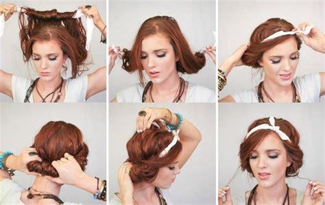 er frisuren selber machen mottoparty lange haare