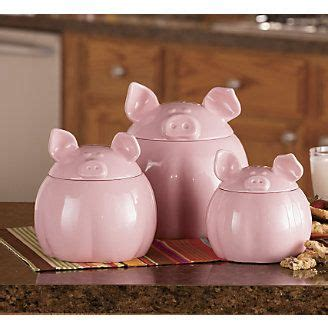 pig kitchen canisters 56 best fair buyers gift ideas images on pig