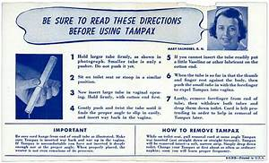 Tampax Junior Tampon  1939