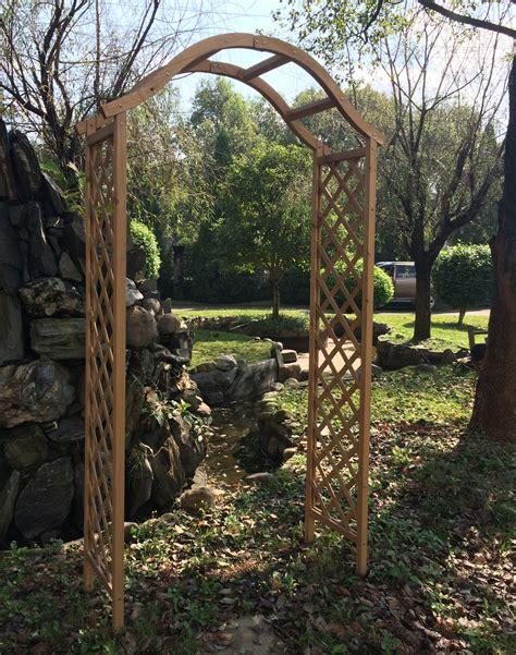Value Garden Arch by Wooden Garden Arch Archway Decorative