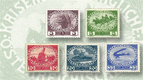 The Austrian Semipostal Stamps That Raised Money For War
