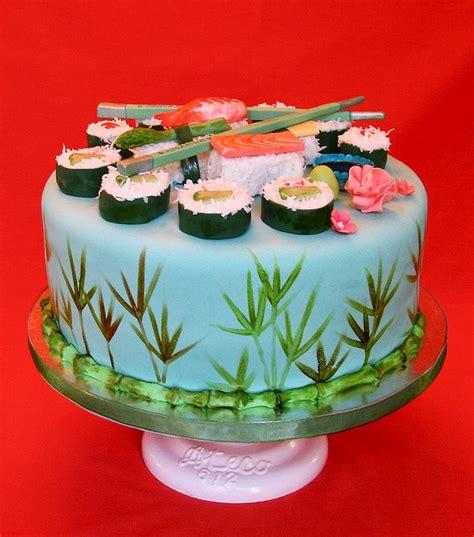sushi cake ideas  pinterest sushi cupcakes