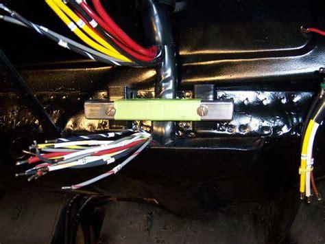 porsche technical articles installing  wiring