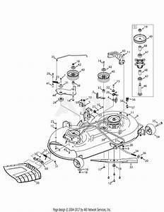 Troy Bilt 13a879ks066 Tb42 Hydro  2015  Parts Diagram For