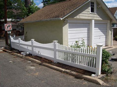 vinyl fencing ideas vinyl fence designs nj
