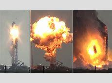 Dramatic Still Frames – Falcon 9 explodes atop Cape